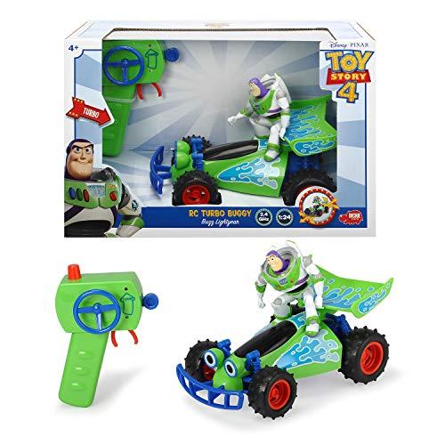 RC Auto kaufen Buggy Bild 5: Dickie Toys 203154000 RC Buggy with Buzz, ferngesteuertes Spielzeug, Toy Story Fahrzeug mit Funksteuerung, für Kinder ab 4 Jahren, Mehrfarbig*