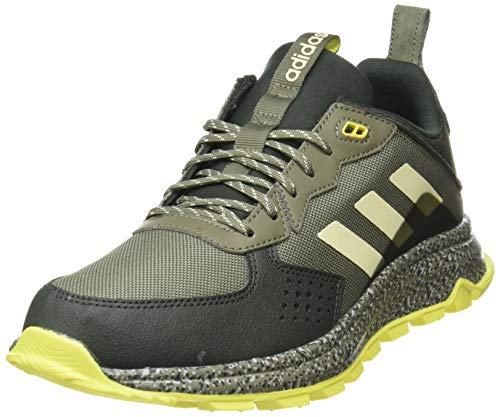 Adidas Response Trail, Zapatillas Running Hombre, Gris (Legacy Green/Sand/Legend Earth), 44 EU