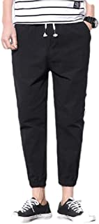 Mogogo Mens Casual with Pockets Athletic Cotton Stretch Middle Waist Sweatpant