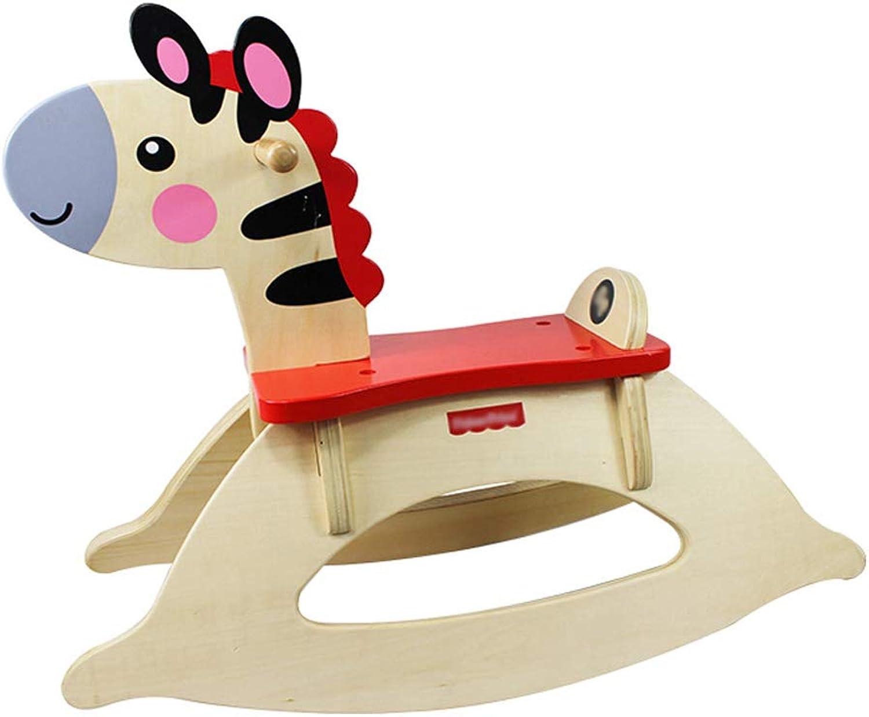 CL- Schaukelpferd Kinder Lernspielzeug Holz Baby Geschenk 650X250X520mm