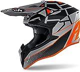 Airoh Helmet Junior Wraap Mood Orange Matt Yxs