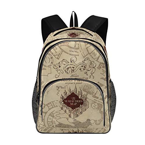 Marauder's Map New Backpack for School Teenagers Travel Bag(623f)