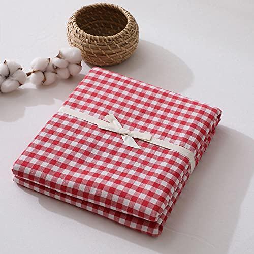 HPPSLT Protector de colchón de bambú Funda de colchón y Ajustable Sábana de algodón de una Sola Pieza a Prueba de polvo-24_180 * 200cm