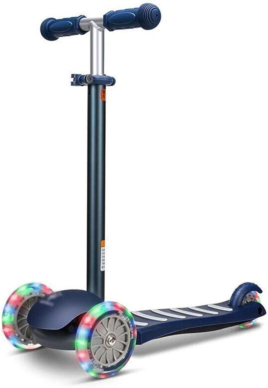 marcas en línea venta barata LXJYMX LXJYMX LXJYMX Scooter para Niños, Triciclo, yo-yo, resbaladizo (Color   Azul)  bienvenido a comprar
