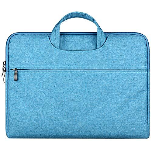 Pulgada Funda para Portátiles/Agua-Resistente con Lona Funda con Asa y Maletín para Ordenador Notebook/Ultrabook Tablet de Maleta Bolsa para Acer/ASUS/DELL/Lenovo/HP/Samsung/Sony/Toshiba,Azul