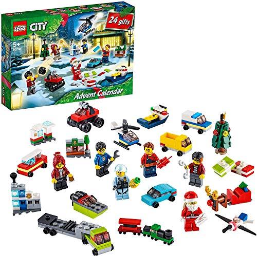 LEGO 60268 City Le Calendrier de lAvent 2020 mini jeu de Con