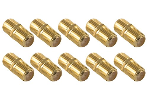 Poppstar - 10x Sat coaxial Cable Connector