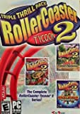 Roller Coaster Tycoon 2 Triple Thrill Pack - Rollercoaster Tycoon 2 PC Instruction Booklet (PC User's Guide Manual only NO GAME)