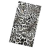 Paleta magnética vacía de sombras de ojos de Beaupretty, paleta cosmética impresa leopardo del envase vacío del maquillaje con los moldes redondos del metal