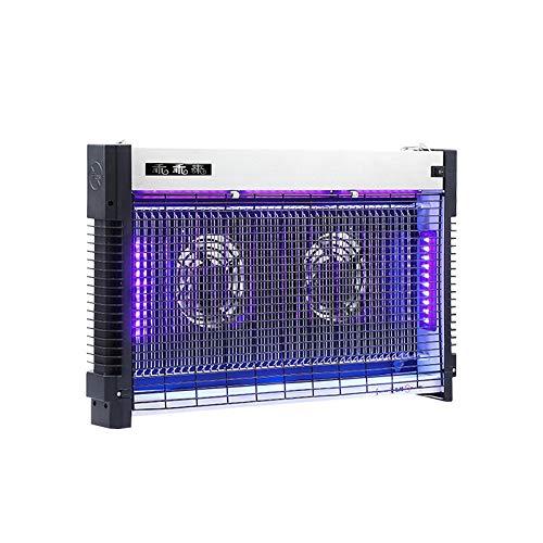 Generieke Mt-699 10 W elektrische Mosquito dispenser met dubbele core Attracts LED-lamp, Bug Zapper Mute Safe UV Light