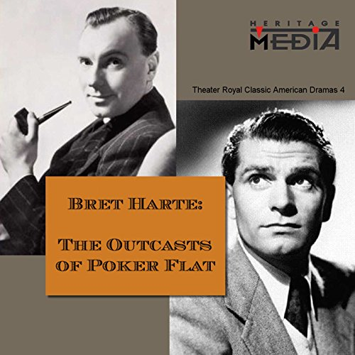 The Outcasts of Poker Flat audiobook cover art
