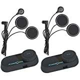 FreedConn T-COM VB 800M Bluetooth Motorrad Helm Interphone Motorrad Intercom Headset Sprechanlage...