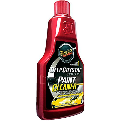 Meguiar's A3016EU Deep Crystal Paint Cleaner Lackreiniger, 473ml
