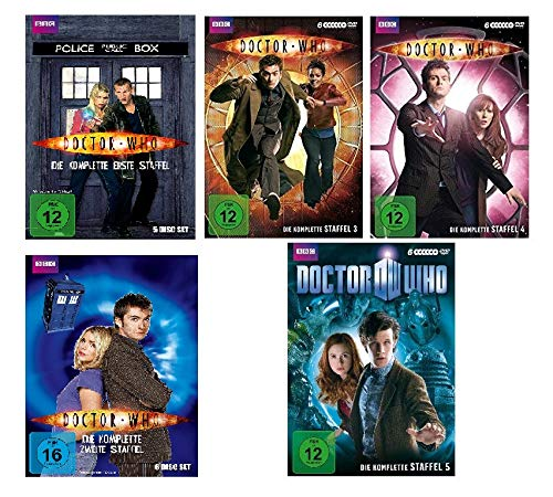 Doctor Who - Staffel 1-5 (29 DVDs)