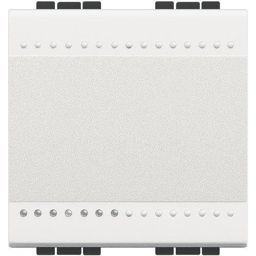 Bticino livinglight - Conmutador 1 polo 16a 2 módulos blanco