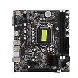 H61 Desktop Computer Motherboard, Solid State LGA 1155 DDR3 1600/1333/1066 MHz Mainboard Computer, Support PCI-E X16 / PCI-E/USB/SATA