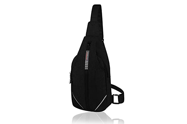 7c51c9f1d5d4 WATERFLY Small Crossbody Sling Backpack Anti Theft Backpack for Traveling  Chest Bags for Men Women Multipurpose Casual Daypack Hiking Shoulder Bag