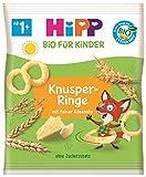 Hipp Knabberprodukte, Knusper-Ringe, 7er Pack (7 x 25 g) -