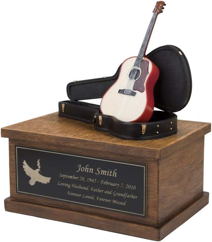 Perfect ギフ_包装 Memorials Custom Engraved ランキングTOP5 Acoustic Crematio Small Guitar