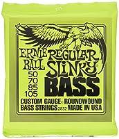 【正規品】 ERNIE BALL ベース弦 レギュラー (50-105) 2セット 2832 REGULAR SLINKY BASS 2SET