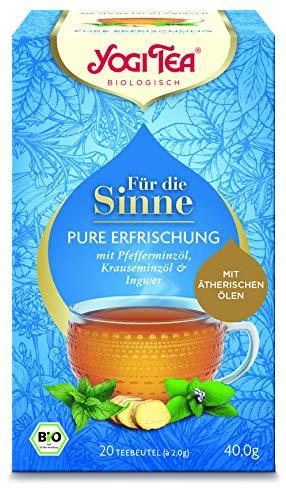 Yogi Tea Pure Erfrischung - Für die Sinne - Bio, 20 Teebeutel -