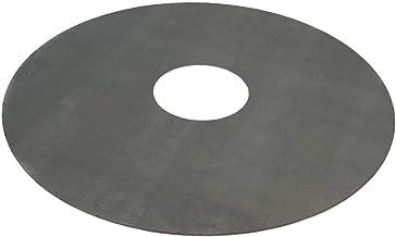 TMM Grillplatte Feuerplatte Durchmesser 80cm Barbecue 5mm Grill BBQ Fassgrill Stahlfass Holzkohlegrill Kugelgrill Feuertonne