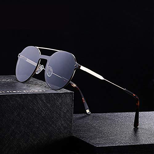 SXRAI Gafas de Sol para Hombres Accesorios de Gafas de Doble Puente Gafas de Sol para Hombres/Mujeres,C1
