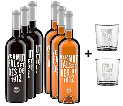Descubre Vermut Falset des de 1912 - Vermut Rojo y blanco -...