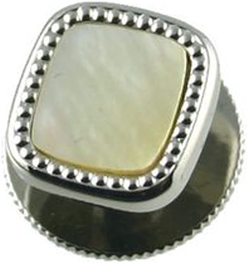 Select Gifts Mother of Pearl Dress Studs in Black Box
