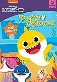 Baby Shark Pega y colorea