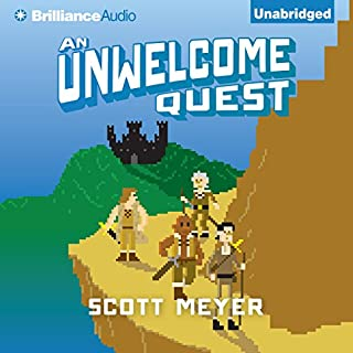 An Unwelcome Quest audiobook cover art