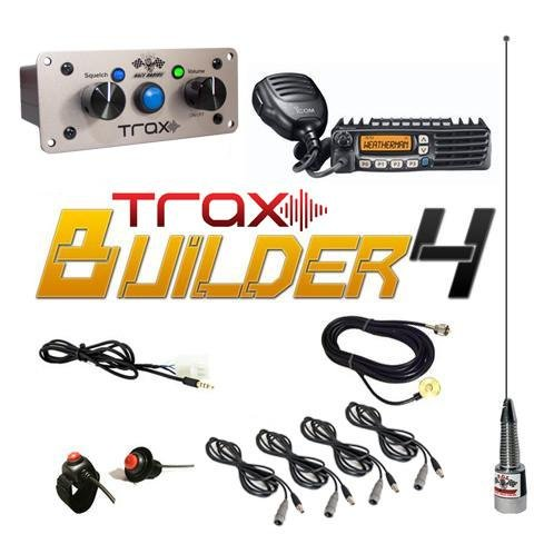 Read About PCI Race Radios Trax Builder 4 Seater Communication Kit