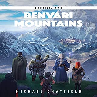 Benvari Mountains     Emerilia, Book 2              Auteur(s):                                                                                                                                 Michael Chatfield                               Narrateur(s):                                                                                                                                 Tristan Morris                      Durée: 11 h et 8 min     7 évaluations     Au global 5,0