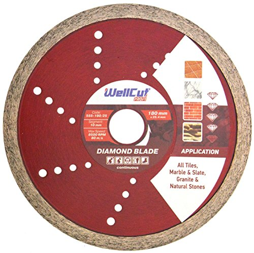 216 x 24 x 30 mm WELLCUT WC-M2163024 Hoja de sierra para tartas