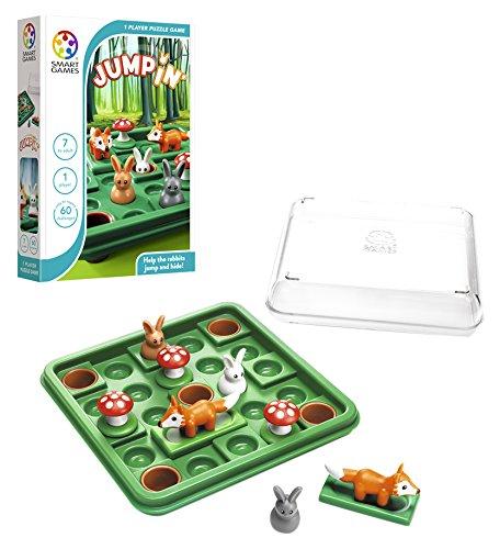 Games-SG421ES Smart Games-Jump in Einzelbett, lustige Geschenke, Puzzle, Tischspiele, für Kinder ab 7 bis 8 Jahren