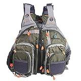 MAXIMUMCATCH Fly Fishing Vest Pack (Fishing Vest/Fishing Backpack/Fishing Sling Pack) (Vest (vest style))