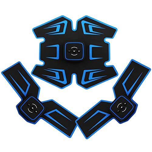 YIMUOUBA ABS EMS Allenatore di Stimolazione Muscolare, Stimolatore di Muscoli Addominali Multifunzione Cintura per Modellare Il Corpo, Ricarica Tramite USB, Facile da Trasportare, Facile da Usare