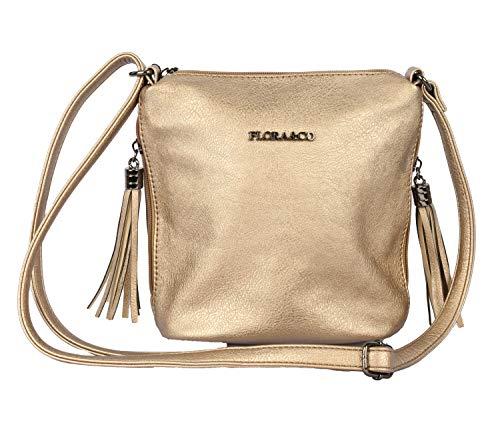 Flora & Co handtas 5624 dames elegante schoudertas schoudertas voor dagelijks gebruik