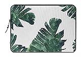 Standard Laptop Sleeve 352226 Society6 Notebook/MacBook Pro/MacBook Air Laptop Sleeve, Banana Leaf Watercolor