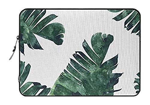 Standard Laptop Sleeve 352226 Society6 Notebook/MacBook Pro/MacBook Air Laptop Sleeve, Banana Leaf Watercolor