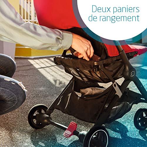 Bébé Confort Lara, Poussette canne Ultra compacte, De la naissance à 3,5ans (0-15kg), Nomad...