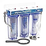 "Sistema di filtrazione acqua a 3 livelli stadi Naturewater NW-PR103 3/4""26mm"
