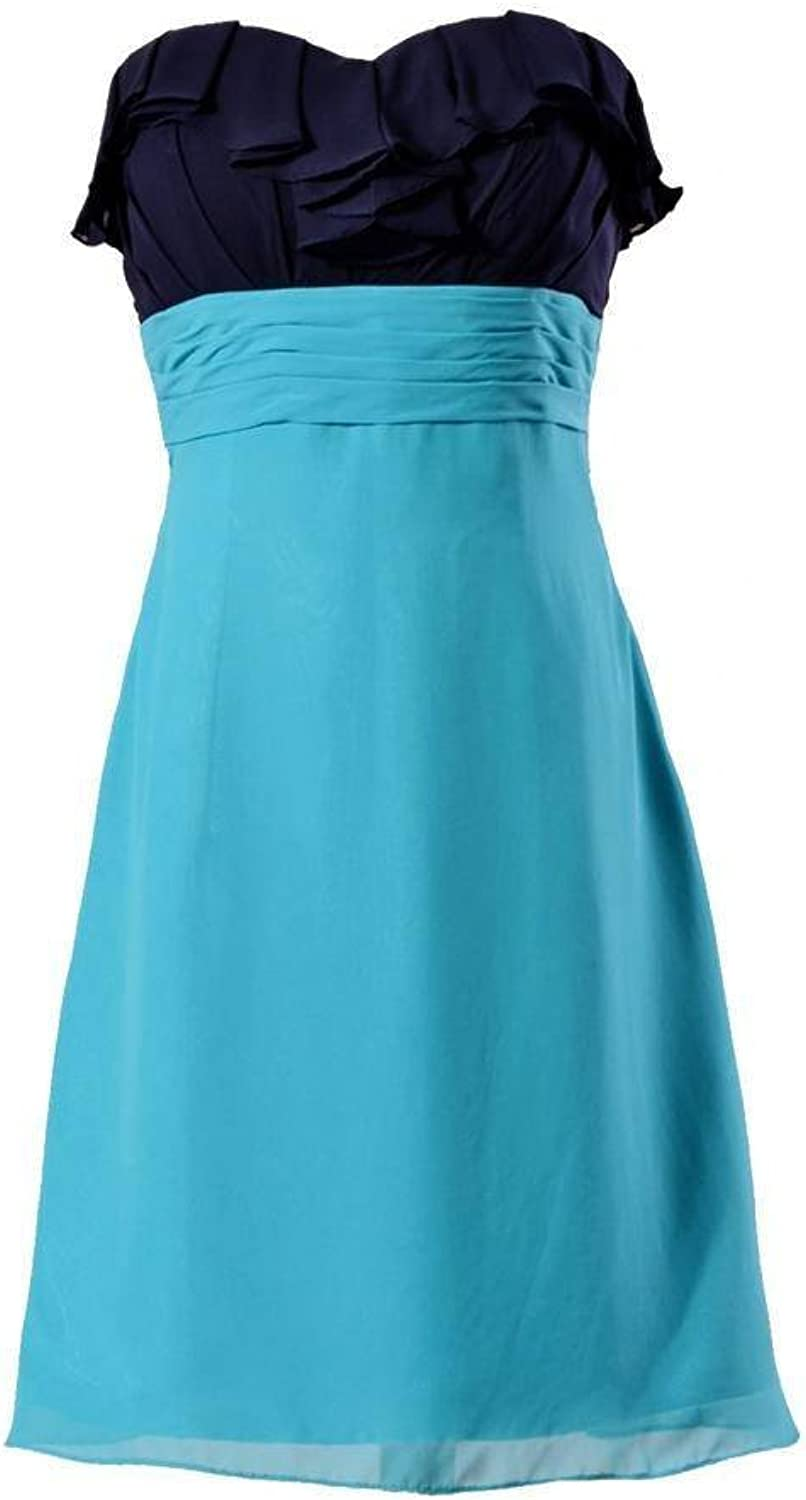 DaisyFormals® 2 color Combination Party Dress short Bridesmaid Dress(BM1549)