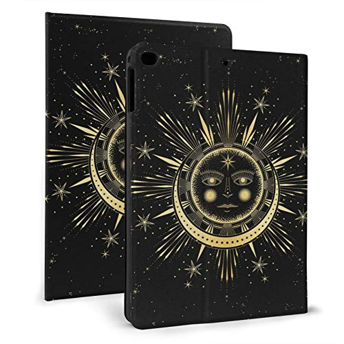The Triple Moon Goddess Wiccan Ipad Case mini4/5 & ipad air1/2 TPU Protective Stand Cover with Auto Sleep Wake Up Ipad for IPad 7.9'&9.7' Tablet