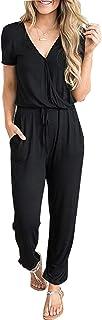 PRETTYGARDEN Women's Casual Short Sleeve Elastic Waist...