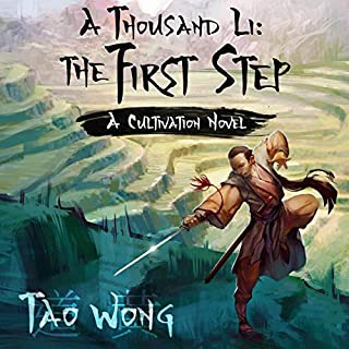 A Thousand Li: The First Step: A Cultivation Novel audiobook cover art