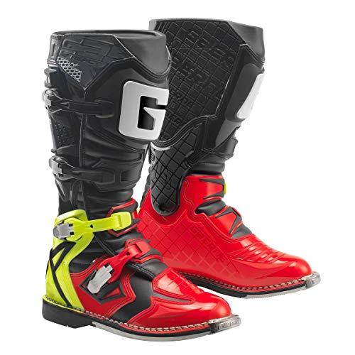 Gaerne Motocross-Stiefel React Goodyear Rot Gr. 45