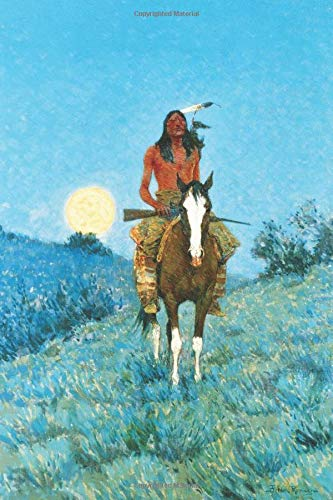The Outlier: Native American Themed Lined Notebook Journal