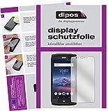 dipos I 2X Schutzfolie klar kompatibel mit Crosscall Trekker X4 Folie Bildschirmschutzfolie