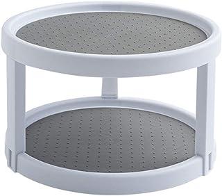 LOVECENTRAL Supports pour pots à épices, étagère de rangement rotative multifonctionnelle, organisateur en plastique, simp...